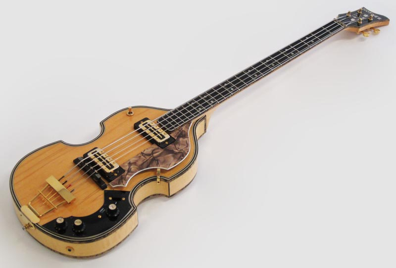 1969 Hofner G500/1 Deluxe Super Beatle Bass